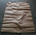 もみがら袋 籾殻袋 樹脂製 (コンテナバッグと同じ素材) 薄茶色 1000×1350mm コ商DNZ