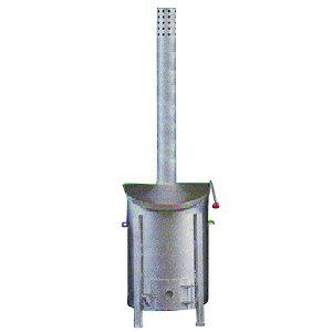 法人限定特価 焼却炉 SFA-2型 120L 家庭用・オフィス・商店に最適 鈴木工業 坂A 代引不可