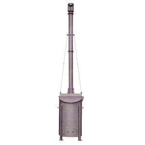 法人限定特価 焼却炉 SFA-4II(2)型 240L 家庭用・オフィス・商店に最適 鈴木工業 坂A 代引不可