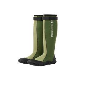【色:グリーン、サイズ:3L】グリーンマスター 2620 長靴 農業用 園芸用 ガーデニング 防水 ATOM アトム 三冨 D