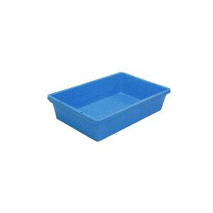 個人宅配送不可 4個 トロ箱 80L 青 トロ舟 プラ箱 プラスチック製 安全興業 代引不可