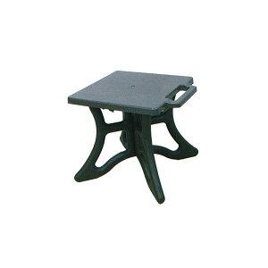 10個 クロスチェア 茶 組立式 アウトドア 屋外 椅子 イス 安全興業D
