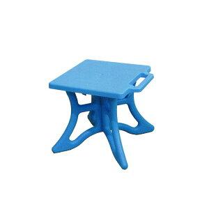 10個 クロスチェア 青 組立式 アウトドア 屋外 椅子 イス 安全興業D