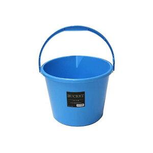 26個 バケツ 10L 青 プラスチック製 安全興業D