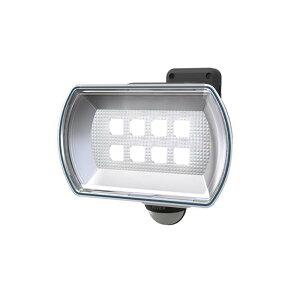 納期2週間程度 ムサシ RITEX 4.5W ワイド フリーアーム式 LED乾電池センサーライト LED-150 400LM 防犯ライト 屋内 屋外 用 福KH