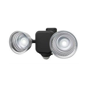 納期2週間程度 ムサシ RITEX 4.5W 3.5W×2灯 フリーアーム式 LED乾電池センサーライト LED-265 600LM 防犯ライト 屋内 屋外 用 福KH