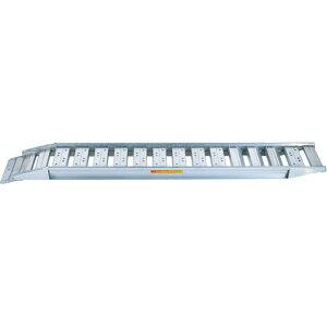 北海道・個人宅配送不可 アルミブリッジ 全長:3200mm 作業効率向上 安全性向上 SBAG-300-40-2.0 アルインコ アR 代引不可