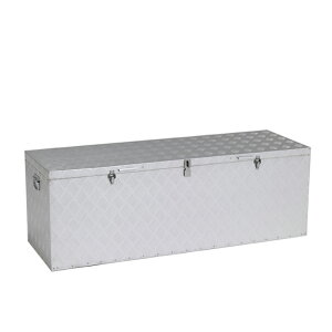 北海道・個人宅配送不可 万能アルミボックス 最大外寸法:1510mm × 527mm × 470mm 支柱付き 施錠可能 BXA150GR アルインコ アR 送料無料 代引不可