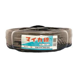 10個 マイカ線 黒 500m × 10mm ビニールハウス 用 バンド タ種 送料無料 代引不可