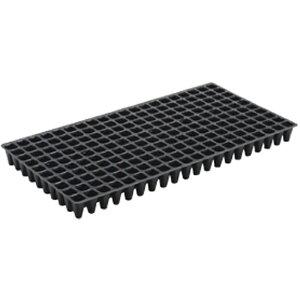 100枚 ヤンマートレイ 黒 25角 200穴 深さ45mm レタス ほうれんそう チンゲンサイ 全自動移植機 対応 ヤンマートレー タ種 送料無料 代引不可