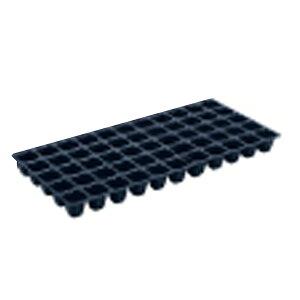 100枚 ヤンマートレイ 黒 45角 55穴 深さ45mm 葉たばこ ヤンマートレー タ種 送料無料 代引不可