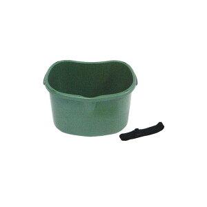 個人宅配送不可 20個 散布&収穫桶 18型 ダークグリーン 容量 約17L 安全興業 代引不可