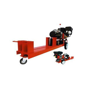 国産油圧薪割機 小型モデル WS-350VSL WAKO 破砕力 9.2t 最長処理能力500mm エンジン式 薪割り機 丸太 和光商事 D 送料無料