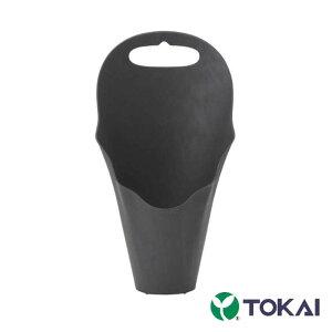 [受注生産] [600個] フラワーコーン [爪あり] [黒] TOKAI 底径7.6cm 横17.5cm 高さ32.0cm 花苗 ギフトに 鉢カバー 持ち手付 東海化成 タ種 送料無料 代引不可