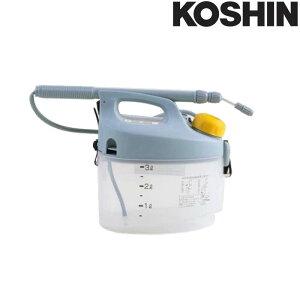 乾電池式噴霧器 ガーデンマスター GT-3S 容量3L 霧状・直射 洗浄スイッチ付 重量1.1kg 工進 KOSHIN 殺虫 殺菌 散布 散水 シB 代引不可