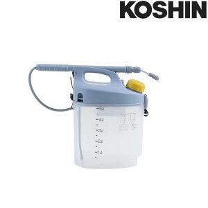 乾電池式噴霧器 ガーデンマスター GT-5S 容量5L 霧状・直射 洗浄スイッチ付 重量1.2kg 工進 KOSHIN 殺虫 殺菌 散布 散水 シB 代引不可