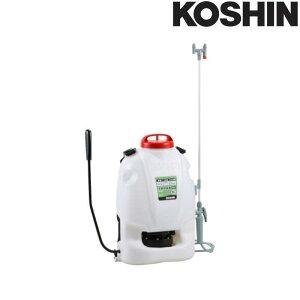 背負式手動噴霧器 グランドマスター RW-10 容量10L 自在2頭口噴口 噴霧量0.9L/分 重量3.3kg 工進 KOSHIN 散布 散水 シB 代引不可