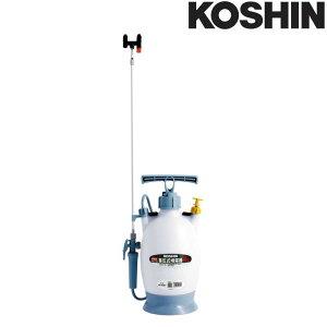 蓄圧式噴霧器 ミスターオート HS-403BT 容量4L 伸縮2段2頭口 ノズル長さ最長150.5cm (延長パイプ付) 重量1.6kg 工進 KOSHIN 消毒 散布 シB 代引不可