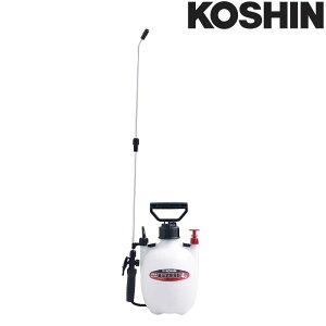 蓄圧式噴霧器 ミスターオート HS-401ET 容量4L 1段1頭口 ノズル長さ[38cm + 延長パイプ37cm] 重量1.0kg 工進 KOSHIN 消毒 散布 シB 代引不可