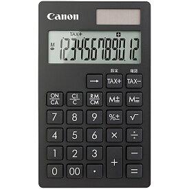 【送料無料】Canon 1481C001 電卓 KS-12T (黒)【在庫目安:お取り寄せ】| 事務機 電卓 計算機 電子卓上計算機 小型 演算 計算 税計算 消費税 税