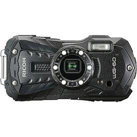 【エントリーでポイント5倍!7/21(日) 20時〜7/26(金)1時59分】【在庫目安:あり】【送料無料】PENTAX WG-60BK 防水デジタルカメラ WG-60 (ブラック)