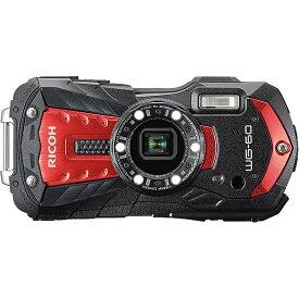 【在庫目安:あり】【送料無料】PENTAX WG-60RD 防水デジタルカメラ WG-60 (レッド)