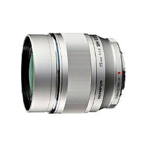 【送料無料】OLYMPUS ET-M7518SLV マイクロフォーサーズ用 M.ZUIKO DIGITAL 75mm F1.8 (シルバー)【在庫目安:お取り寄せ】| カメラ 単焦点レンズ 交換レンズ レンズ 単焦点 交換 マウント ボケ