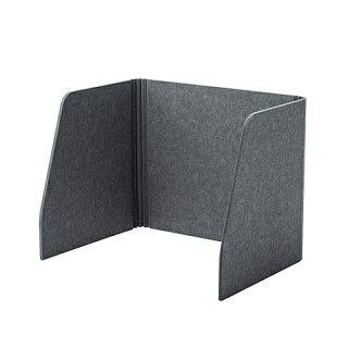 【送料無料】サンワサプライSPT-DPSM060デスクパーティション(三面タイプ)【在庫目安:お取り寄せ】 オフィスオフィス家具