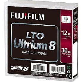 【送料無料】富士フイルム LTO FB UL-8 12.0T J LTO Ultrium8 データカートリッジ 12.0/ 30.0TB【在庫目安:僅少】