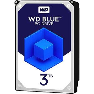 【送料無料】WESTERN DIGITAL 0718037-840154 WD Blueシリーズ 3.5インチ内蔵HDD 3TB SATA3(6Gb/ s) 5400rpm 64MB WD30EZRZ-RT【在庫目安:お取り寄せ】| パソコン周辺機器