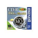 【在庫目安:あり】【送料無料】maxell CDR700S.1P10S データ用CD-R、記憶容量700MB、48倍速対応、1枚ずつプラケース入…
