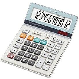 【送料無料】SHARP EL-S752K-X 電卓(セミデスクタイプ)【在庫目安:僅少】| 事務機 電卓 計算機 電子卓上計算機 小型 演算 計算 税計算 消費税 税