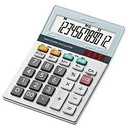 【お買上げ15750円以上で送料無料】シャープ電卓12桁(ミニナイスサイズタイプ)[EL-M712K-X]【在庫目安:お取り寄せ】0222春先2