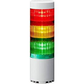 【送料無料】パトライト LR6-3USBW-RYG USB制御積層信号灯(3段赤黄緑)【在庫目安:お取り寄せ】  パソコン周辺機器 積層信号灯 監視用表示灯 LED表示灯 ネットワーク 監視 NMS プログラム 自作 システム PC パソコン