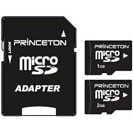 【送料無料】Princeton PMSD-1G microSDカード 1GB【在庫目安:お取り寄せ】