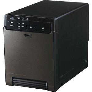 【送料無料】Logitec LGB-4BNHEU3 HDDケース/ 3.5インチHDD/ 4Bay/ USB3.0+eSATA接続/ ソフト付【在庫目安:お取り寄せ】