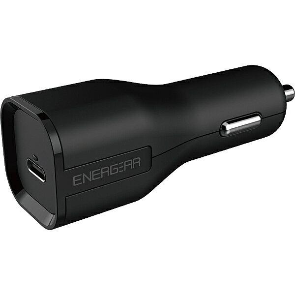 【送料無料】GOPPA E10270A1CBLK 27W USB PD認証 Type-C カーチャージャー 90cmケーブルセット ブラック【在庫目安:お取り寄せ】