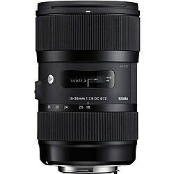 【送料無料】SIGMA 18-35/1.8DCHSM SA 18-35mm F1.8 DC HSM シグマ用【在庫目安:お取り寄せ】| カメラ ズームレンズ 交換レンズ レンズ ズーム 交換 マウント
