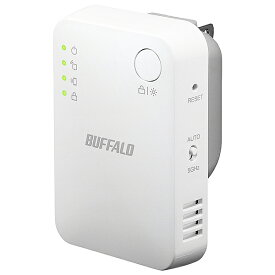 【在庫目安:あり】【送料無料】バッファロー WEX-1166DHPS 無線LAN中継機 11ac/ n/ g/ b 866+300Mbps エアステーション ハイパワー コンパクトモデル