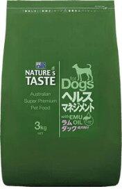 ネイチャーズテイスト ラム&ダック 3kg 【Nature's Taste ドッグフード】 ○