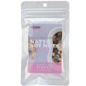ナチュラルハーベスト 納豆ソイナッツ ミックストリオ 30g 【Natural Harvest おやつ】 ○