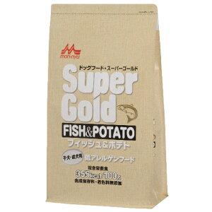 森乳サンワールド スーパーゴールド フィッシュ&ポテト 2.4kg ○