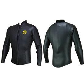 最終SALE 日本製 BODY GLOVE WETSUITS ボディグローブウェットスーツ 長袖ジャケット 正規品 2mm CLASSIC 長袖タッパー タッパ