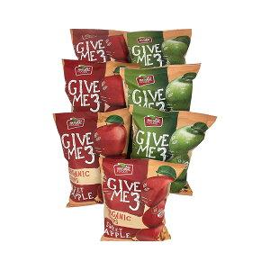 オーガニック ドライアップル チップ 赤りんご1袋40gx4袋 青りんご1袋40gx3袋 合計7袋入り
