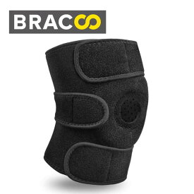 Bracoo 膝サポーター 膝固定 保護 膝痛 怪我予防 膝用 運動用 ひざ サポーター 左右兼用 登山 ランニング バスケ アウトドア スポーツ