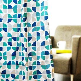 【あす楽14時まで】 送料無料既製 カーテン インテリアクォーターリポート ドレープカーテン マリポーサ[100×178cm] QUATERREPORT Mariposa 【smtb-F】シンプル テキスタイル 北欧 おしゃれ◇グリーン ブルー ファブリック 日本製 デザイン plywood