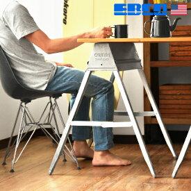 \MAX46.5倍/作業台 テーブル 棚【あす楽14時まで】EBCO Metal Folding Sawhorseエブコ メタル フォルディング ソーホースDIY 脚 材料 家庭用 折り畳み コンパクト インダストリアル アウトドア キャンプ