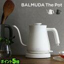 レビュー バルミューダ ザ・ポット ポイント おしゃれ 湯沸かし コーヒー 湯沸かし器