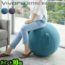 姿勢 イス クッション 65cm【あす楽14時まで】 P10倍 送料無料Vivora SITTING BALL CHAIRS LUNO CHENILLEシーティング…
