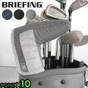 ゴルフ パターカバー golf 100Dブリーフィング パター カバー [ブラック / ネイビー / グレー]BRIEFING PUTTER COVER…